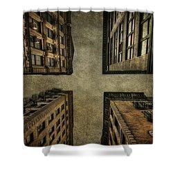 Uprising Shower Curtain by Evelina Kremsdorf