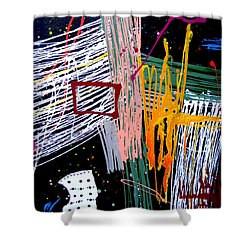 Uptown Downtown Shower Curtain