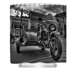 Ural - Bw Shower Curtain
