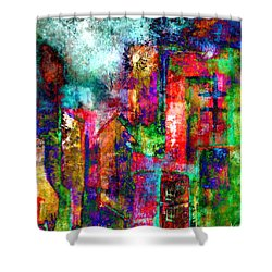 Urban #8 Shower Curtain