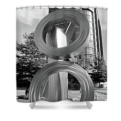 Urban Abstract  Shower Curtain