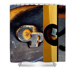 Urban Abstracts Cp Shower Curtain