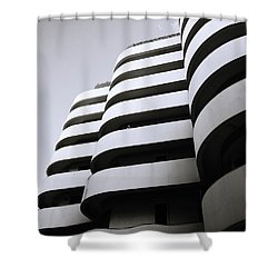 Urban Alienation Shower Curtain