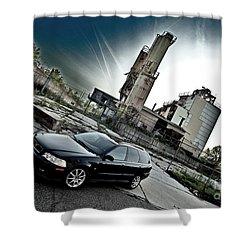 Urban Background Shower Curtain