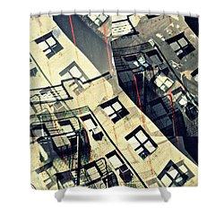Urban Distress Shower Curtain by Sarah Loft