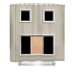 Urban Face Shower Curtain