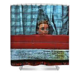 Urban Humor Shower Curtain by Allen Beatty