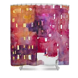 Urban Landscape 3 Shower Curtain by Alessandro Andreuccetti