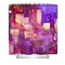 Urban Landscape 4 Shower Curtain by Alessandro Andreuccetti