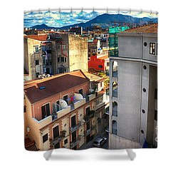 Urban Landscape In Palermo Shower Curtain