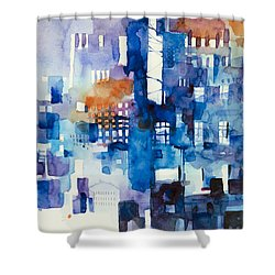 Urban Landscape No.1 Shower Curtain by Alessandro Andreuccetti