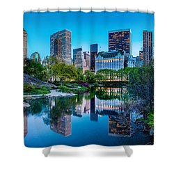 Urban Oasis Shower Curtain
