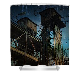 Urban Past Shower Curtain