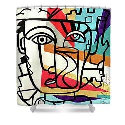 Urban Pop Art - Original Art Print Shower Curtain