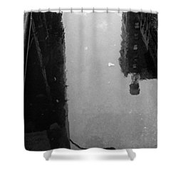 Urban Puddle Shower Curtain