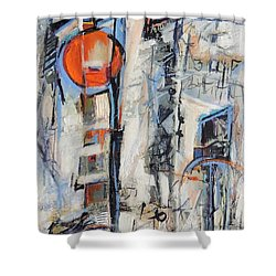 Urban Street 1 Shower Curtain