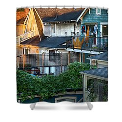 Urban Vancouver Shower Curtain by Theresa Tahara