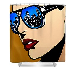Urban Vision Shower Curtain