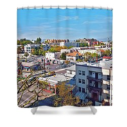 Urbania Shower Curtain