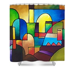 Urbanity 2 Shower Curtain
