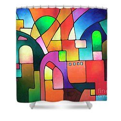 Urbanity Shower Curtain