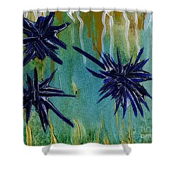 Urchins Shower Curtain