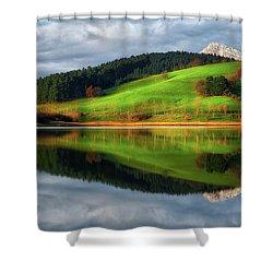 Urkulu Reservoir Shower Curtain