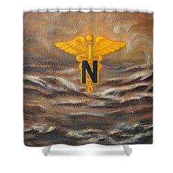 U.s. Army Nurse Corps Desert Storm Shower Curtain