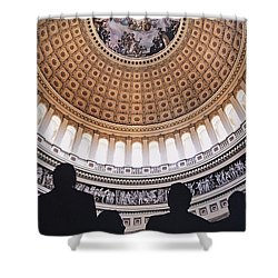 U. S. Capital Rotunda Shower Curtain