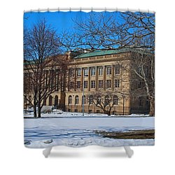 Us Court House And Custom House Shower Curtain