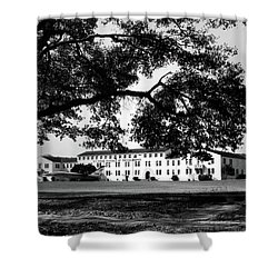Us Naval Schools Of Photography Building 1500 Shower Curtain