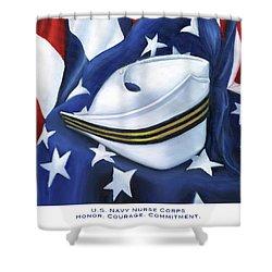 U.s. Navy Nurse Corps Shower Curtain