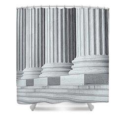 Us Supreme Court Building Iv Shower Curtain