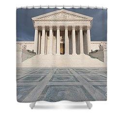 Us Supreme Court Building Vii Shower Curtain