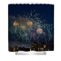 Usa 2 Shower Curtain