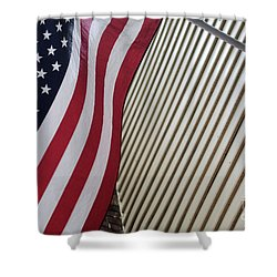 Usa All The Way Shower Curtain