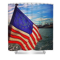 An American Tale Shower Curtain