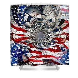 Usa Patriot Shower Curtain