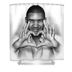 Usher Shower Curtain