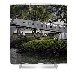 U.s.s. Bowfin Shower Curtain