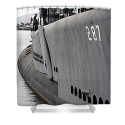 U.s.s. Bowfin, Pearl Harbor Shower Curtain