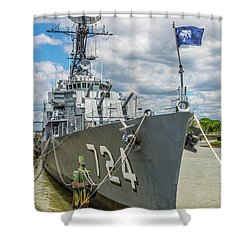 Uss Laffey Dd-724 Shower Curtain