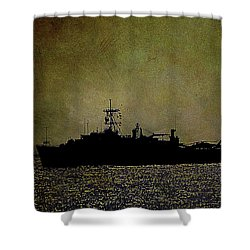 Uss Ponce Lpd-15 Shower Curtain