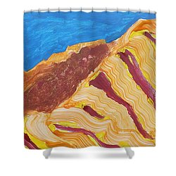 Utah  Canyons Shower Curtain by Don Koester