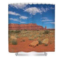Utah Canyons Shower Curtain