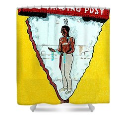 Ute Trading Post Shower Curtain