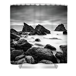 Utopia Shower Curtain by Jorge Maia