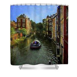 Utrecht, Holland Shower Curtain by John Kolenberg