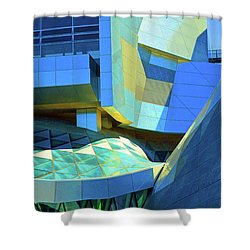Utzon Center In Aalborg Denmark Shower Curtain by Eva Kaufman