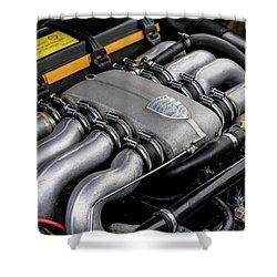 V8 Porsche Shower Curtain
